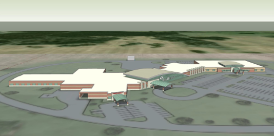 Monett Cox hospital rendering