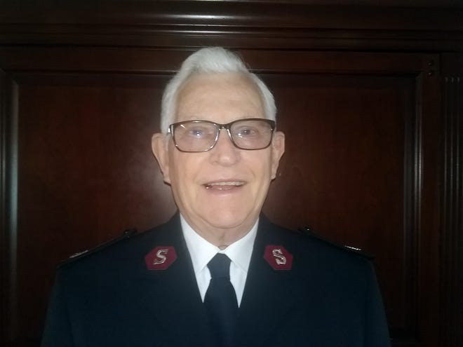 Major Gary Lee Long, retired from Salvation Army in Staunton, Va., and head of its Neediest Families Program.