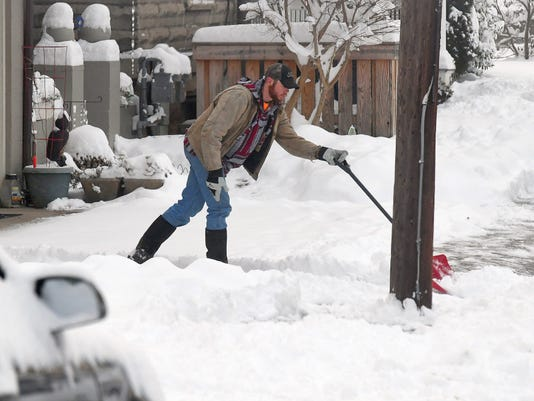 Digging Out From The Snow