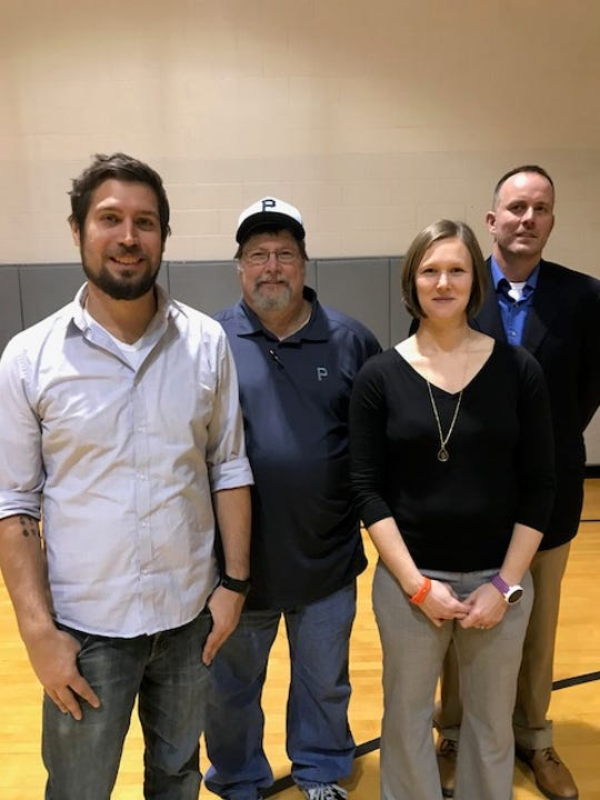 Ryan Bonos, Keith Ramsey, Meredith Withers and Jeff Jennings are the 2018 hall of fame class for Buffalo Gap High School.