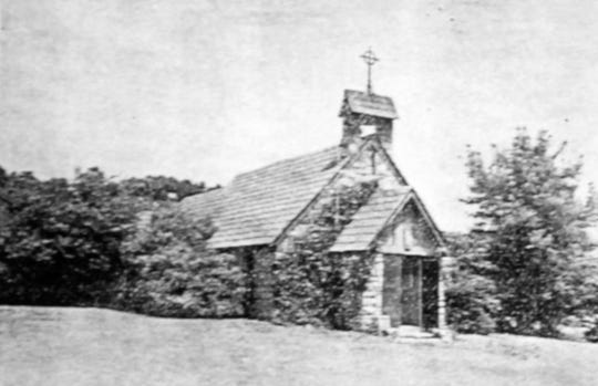 Good Shepherd Episcopal Church in the 1950s.