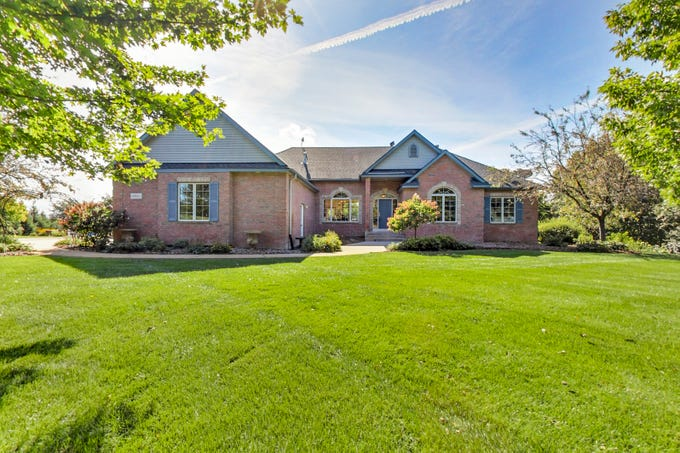 Sitting atop nearly 10acres of scenic land, privacy and peace abound at this luxury retreat nestled in the rolling hills south of Elk River.