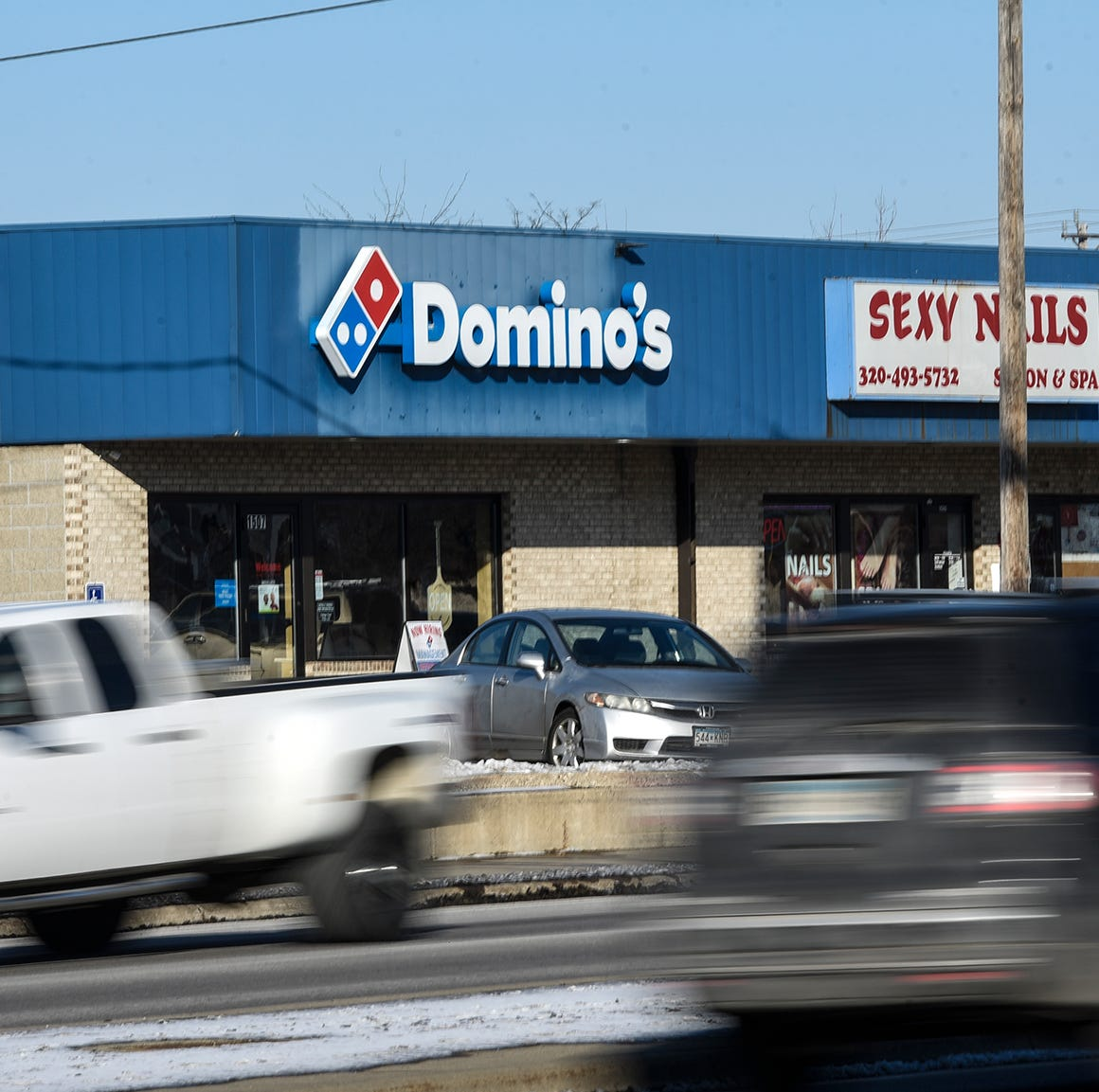 Domino's Pizza says you should expect a more inviting atmosphere, better parking downtown