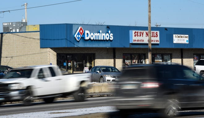 The current Domino's Pizza location at 1507 First St. S is pictured Monday, Dec. 10, in St. Cloud.