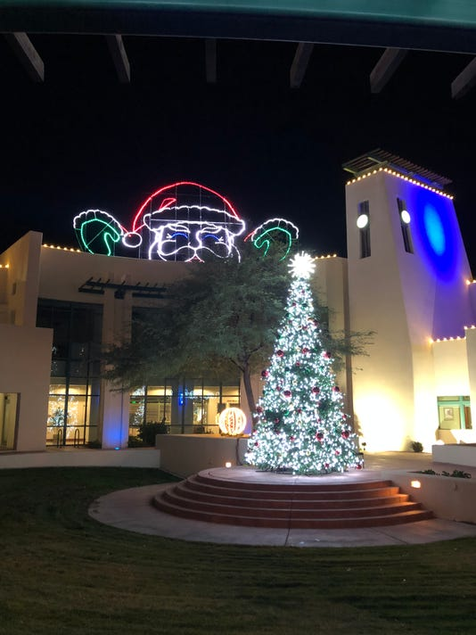 Mesquite City Hall Christmas