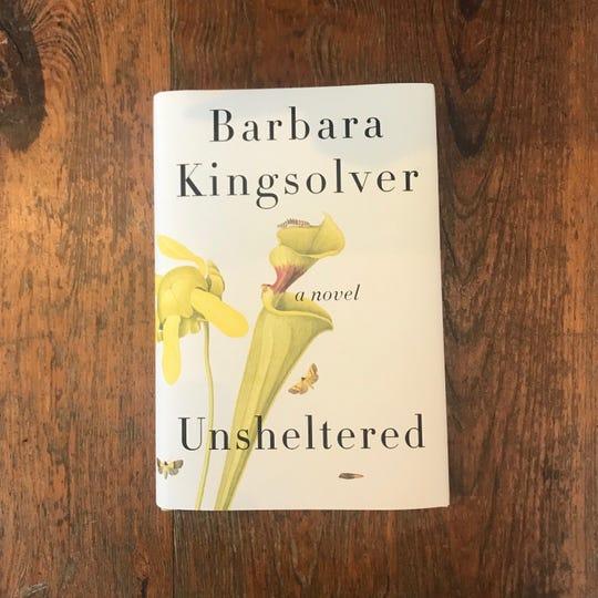 """""""Unsheltered,"""" by Barbara Kingsolver."""