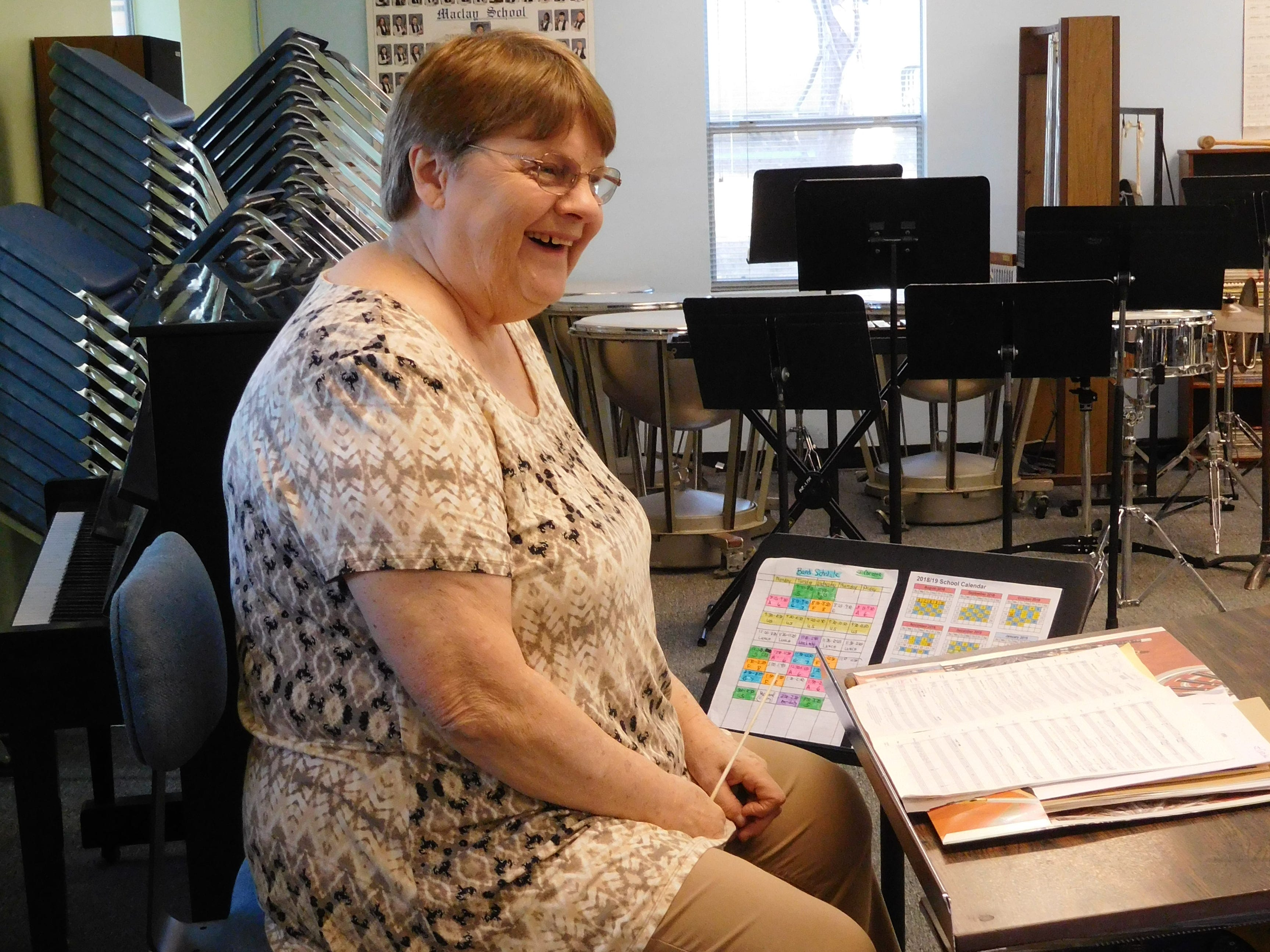 Longtime Maclay music teacher launched band program