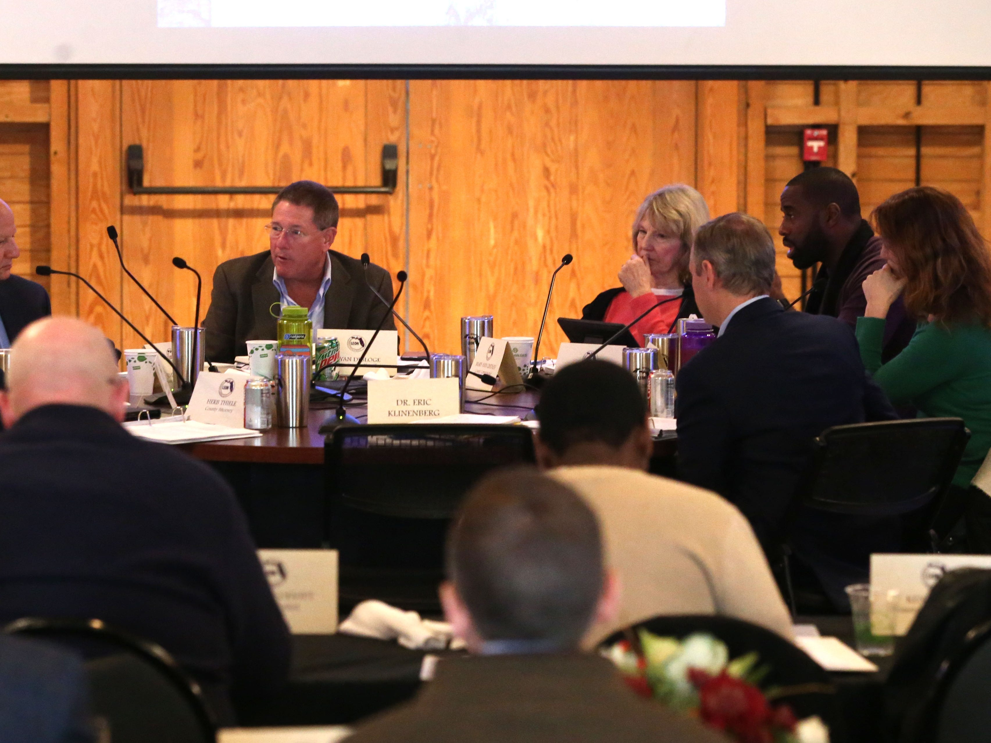 County Commissioners attend annual retreat at Goodwood Museum and Gardens
