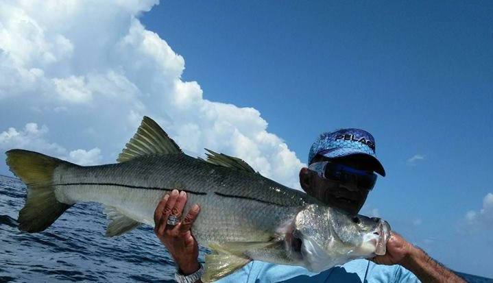 """Jose """"Snook Slayer"""" Abrego of Stuart wants to..."""