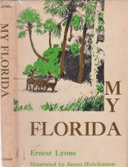 Book cover of 'My Florida' by Ernie Lyons.