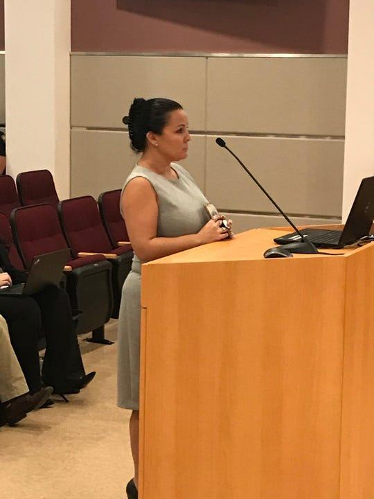 Erika Rains, principal, Somerset College Preparatory Academy in Port St. Lucie