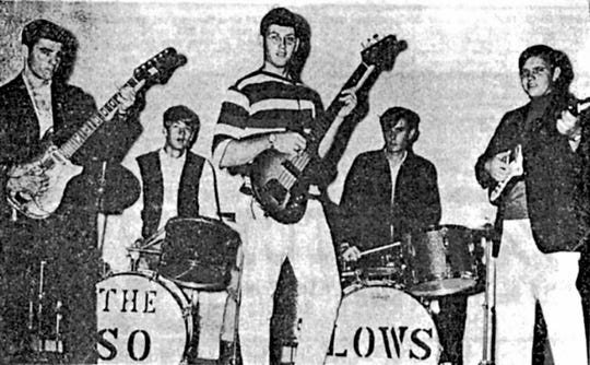 The 'So-Lows' band in 1966