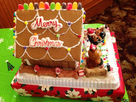 More than 20 elaborately decorated gingerbread houses will be on display at Heritage Square Hall in Oxnard on the weekends in December during GingerbreadFest at the Square.