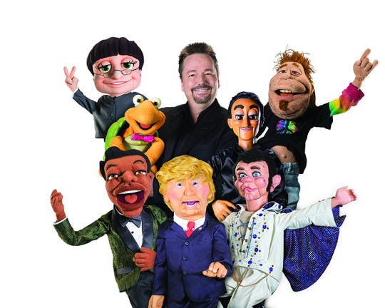 Ventriloquist Terry Fator will perform at the Chumash Casino on Dec. 14.