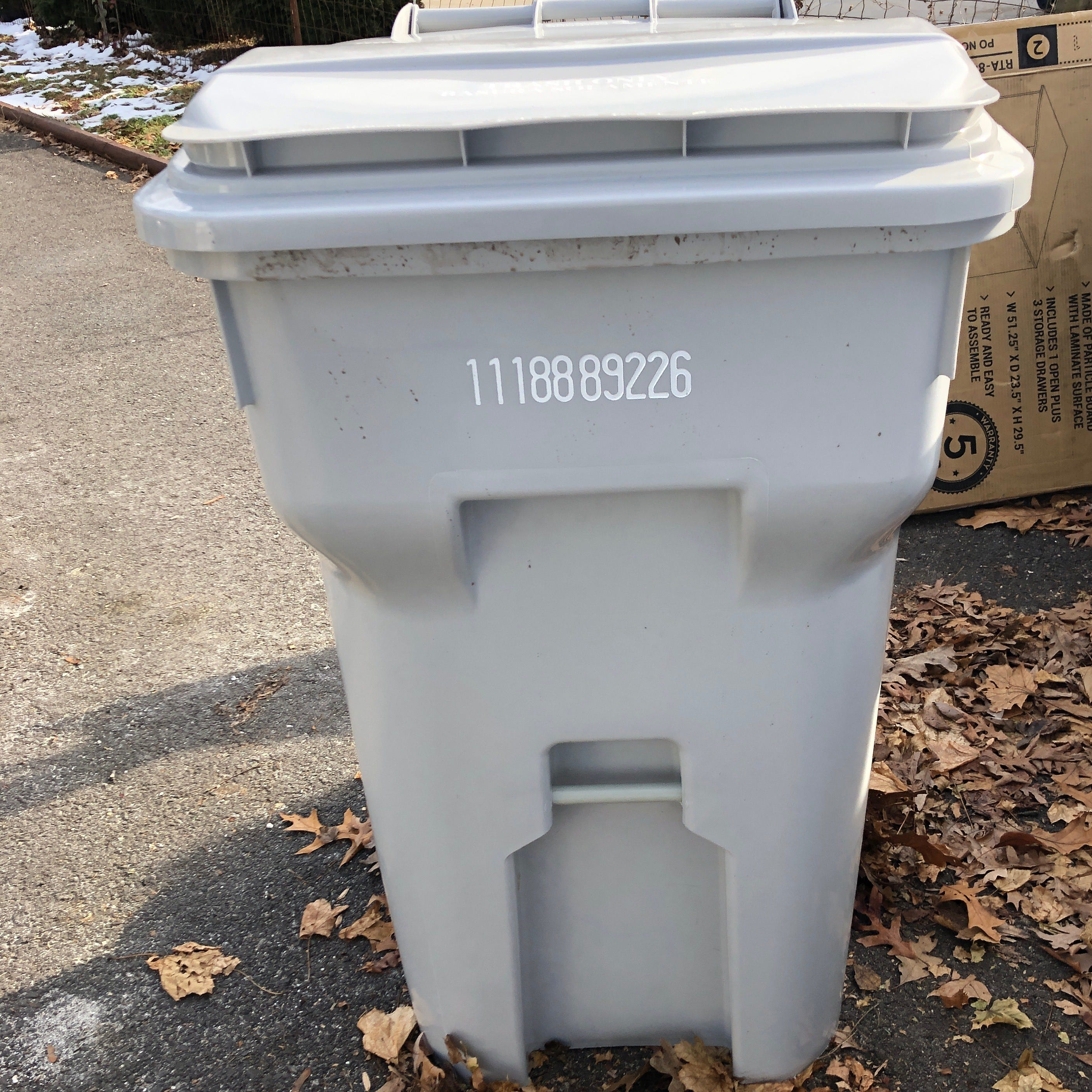 LETTER: Don't make seniors wait for smaller trash bins