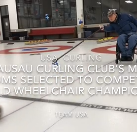 Wausau curler Matt Thums named to Team USA for World Wheelchair Championship