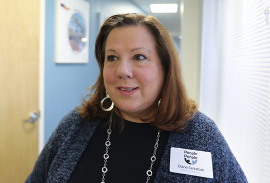 Executive Director Diane Serratore at People to People in West Nyack Dec. 6, 2018.
