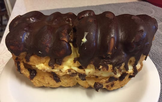 The eclairs at Rosenfeld's Jewish Deli in Rehoboth Beach are super-sized.