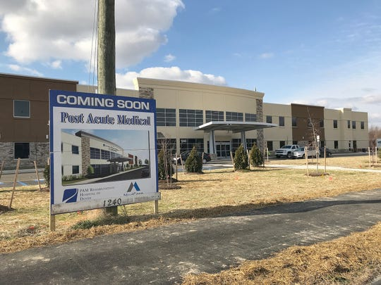 Post Acute Medical in Dover is scheduled to open in February. The 34-bed acute rehabilitation medical facility is undergoing final preparations at 1240 McKee Road and is expected to employ 150 people.