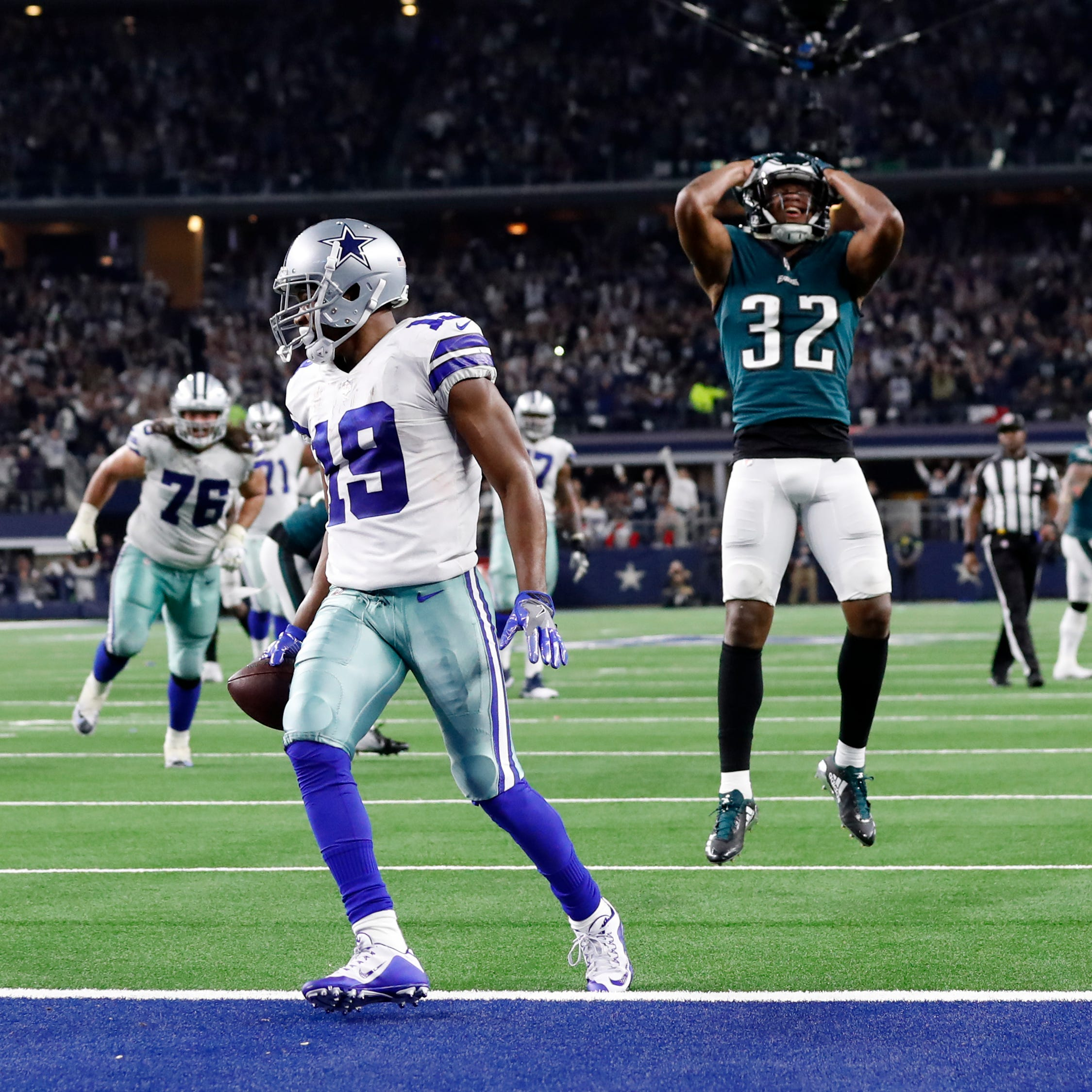 Eagles come to life late, but lose to Cowboys in OT as playoff chances fade