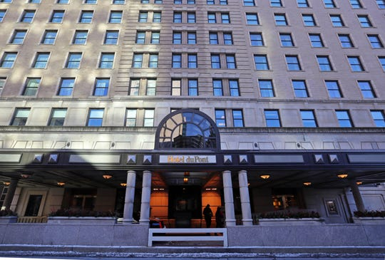 The Hotel DuPont was a symbol of the company's clout in Delaware. In 2017, it was sold to developer Buccini/Pollin.