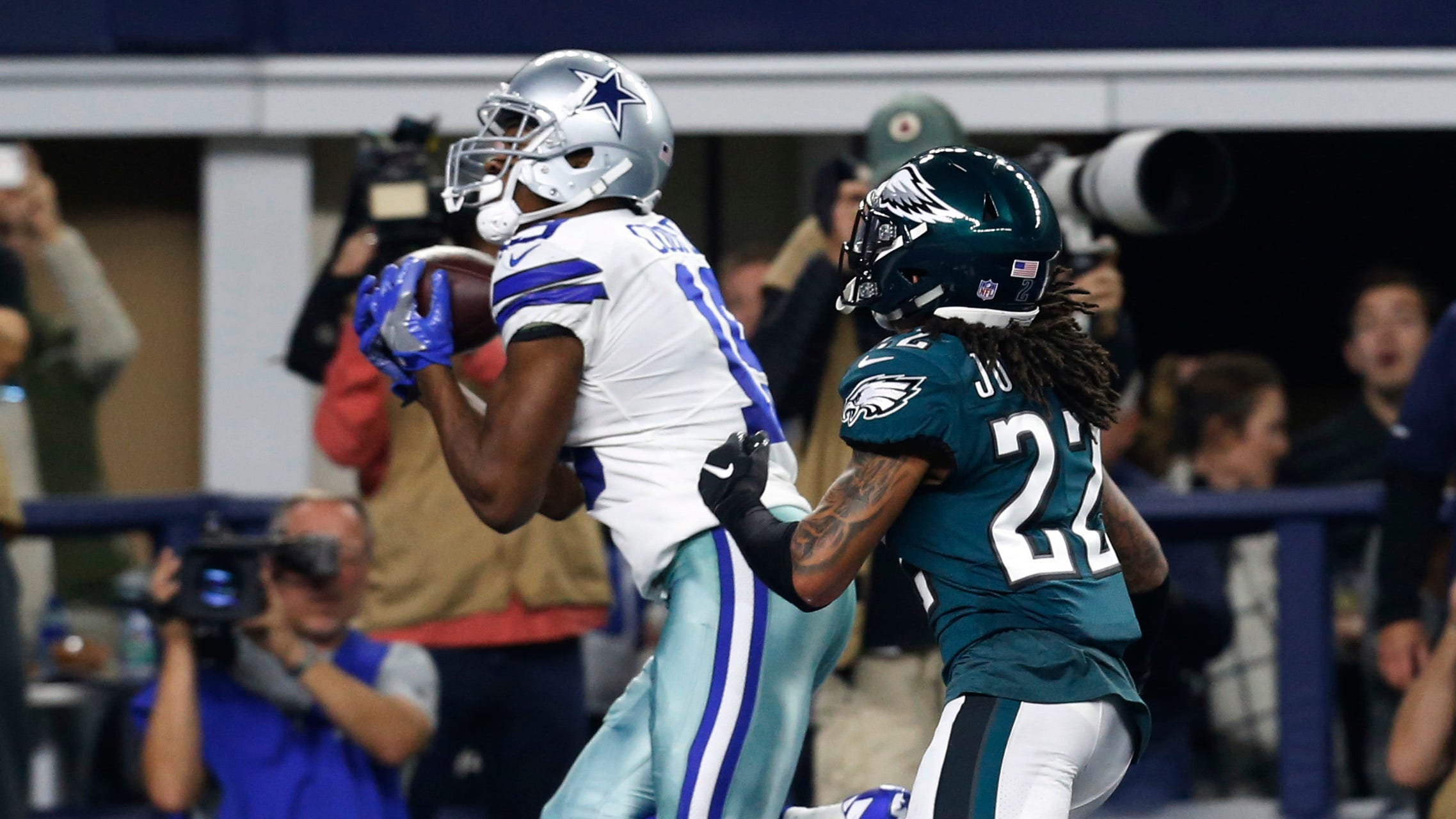 Sidney Jones played most of the second half on a strained hamstring, and the Cowboys took advantage. If Jones sits out, who is going to replace him?