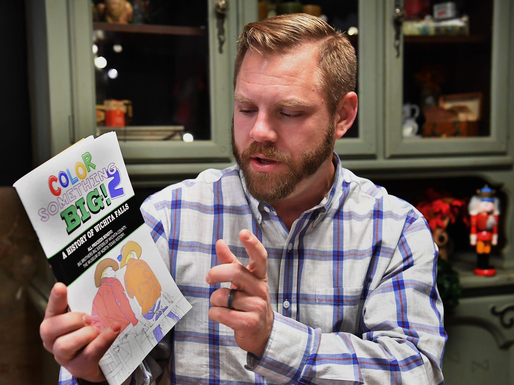 Wichita Falls history coloring book benefits two local nonprofits