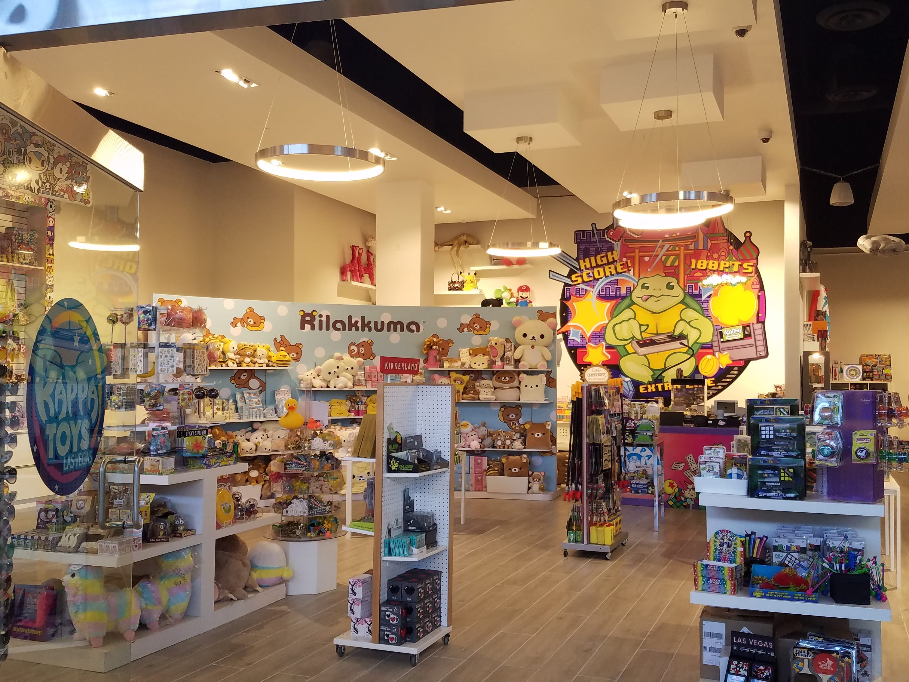 Kappa Toys in Las Vegas appeals to toddlers, grade schoolers, teens and even their parents. The chain's newest location is in the city's glitzy Fashion Show mall.