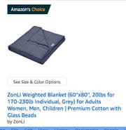 An Amazon's Choice tag on an Amazon search page. Amazon gives this to specific products it deems optimal with respect to their combination of high reviews/rating, high sales and ability to ship immediately primarily via Prime.  Companies cannot purchase Amazon's Choice so there is no deal cut between the seller and Amazon for this designation.