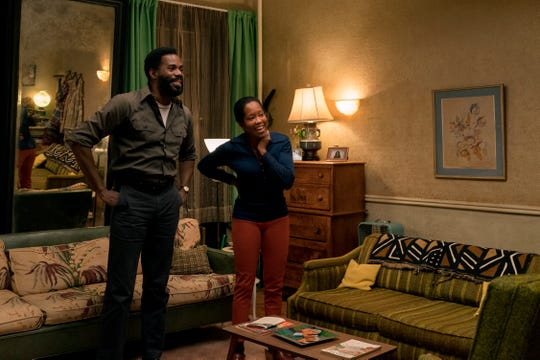 "Joe (Colman Domingo, left) and Sharon (Regina King) are moral pillars of love and understanding, and the kind of parents ""every child wishes they could have,"" King says."