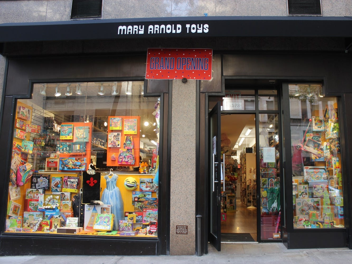 New York's Mary Arnold Toys calls itself the country's oldest continually running toy store. It opened in 1931, and offers Manhattan touches like a personal shopping service, both in-person or on the phone.