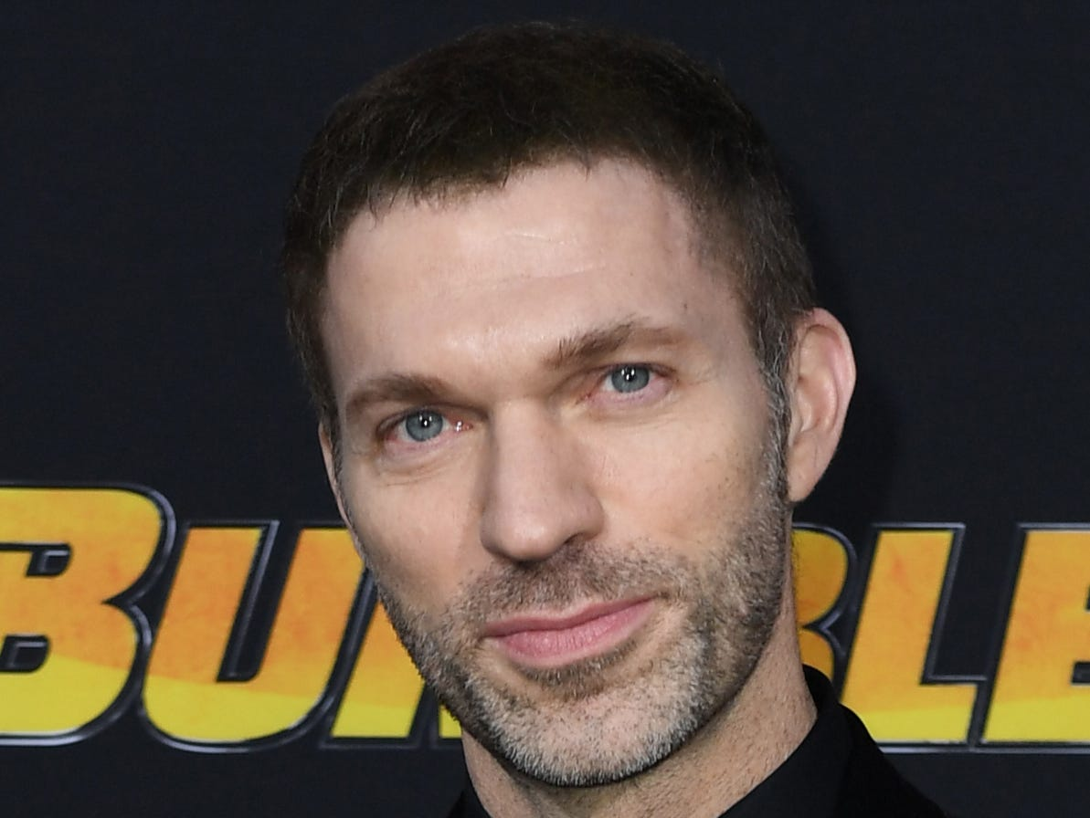 "US director Travis Knight attends the global premiere of ""Bumblebee"" at the TCL Chinese theatre in Hollywood on December 9, 2018. (Photo by VALERIE MACON / AFP)VALERIE MACON/AFP/Getty Images ORG XMIT: Premiere ORIG FILE ID: AFP_1BH0RJ"