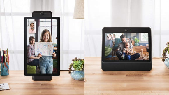 The Portal's tracking feature takes video chatting to the next level.