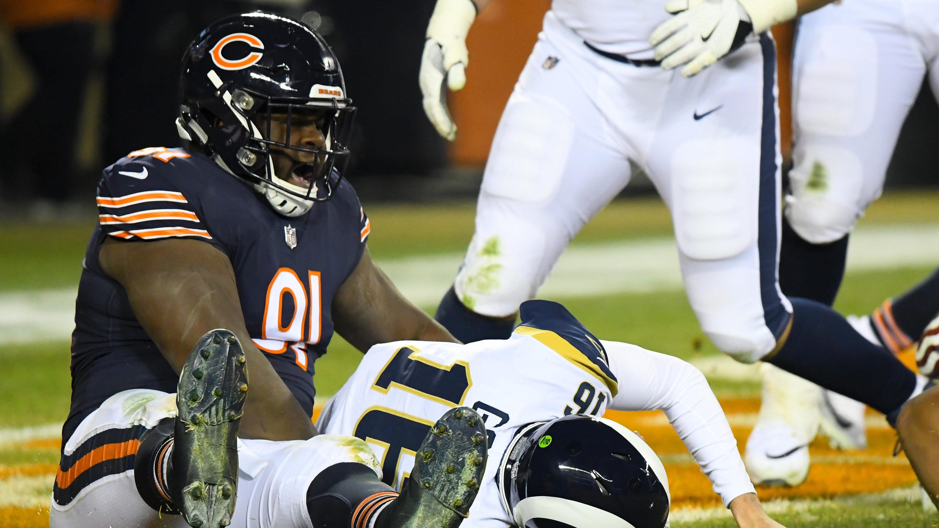 Chicago Bears  defense leaves red-hot Los Angeles Rams out in the cold 4c34868f2