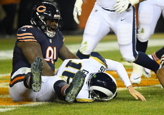 Chicago Bears Defense Leaves Red Hot Los Angeles Rams Out