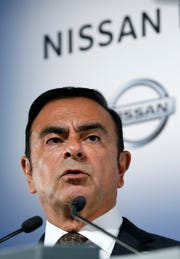 Nissan Motor's chairman Carlos Ghosn in 2014.