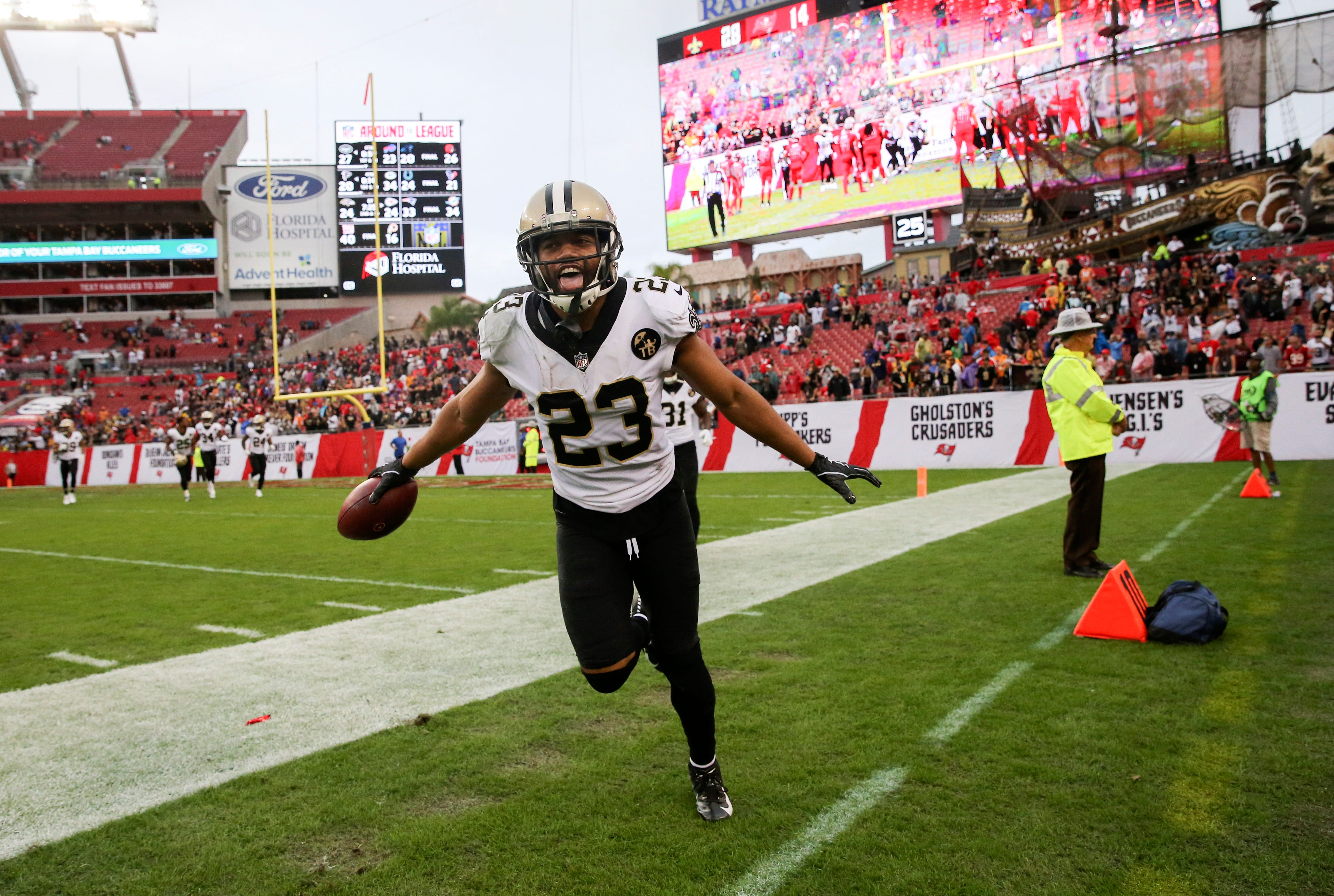 NFL playoff picture after Week 14: Saints reclaim inside track to NFC's home field