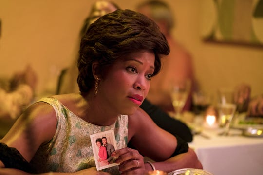 "Regina King in a scene from ""If Beale Street Could Talk."""