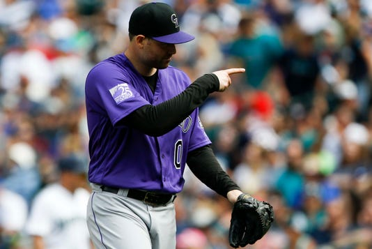 Mlb Colorado Rockies At Seattle Mariners