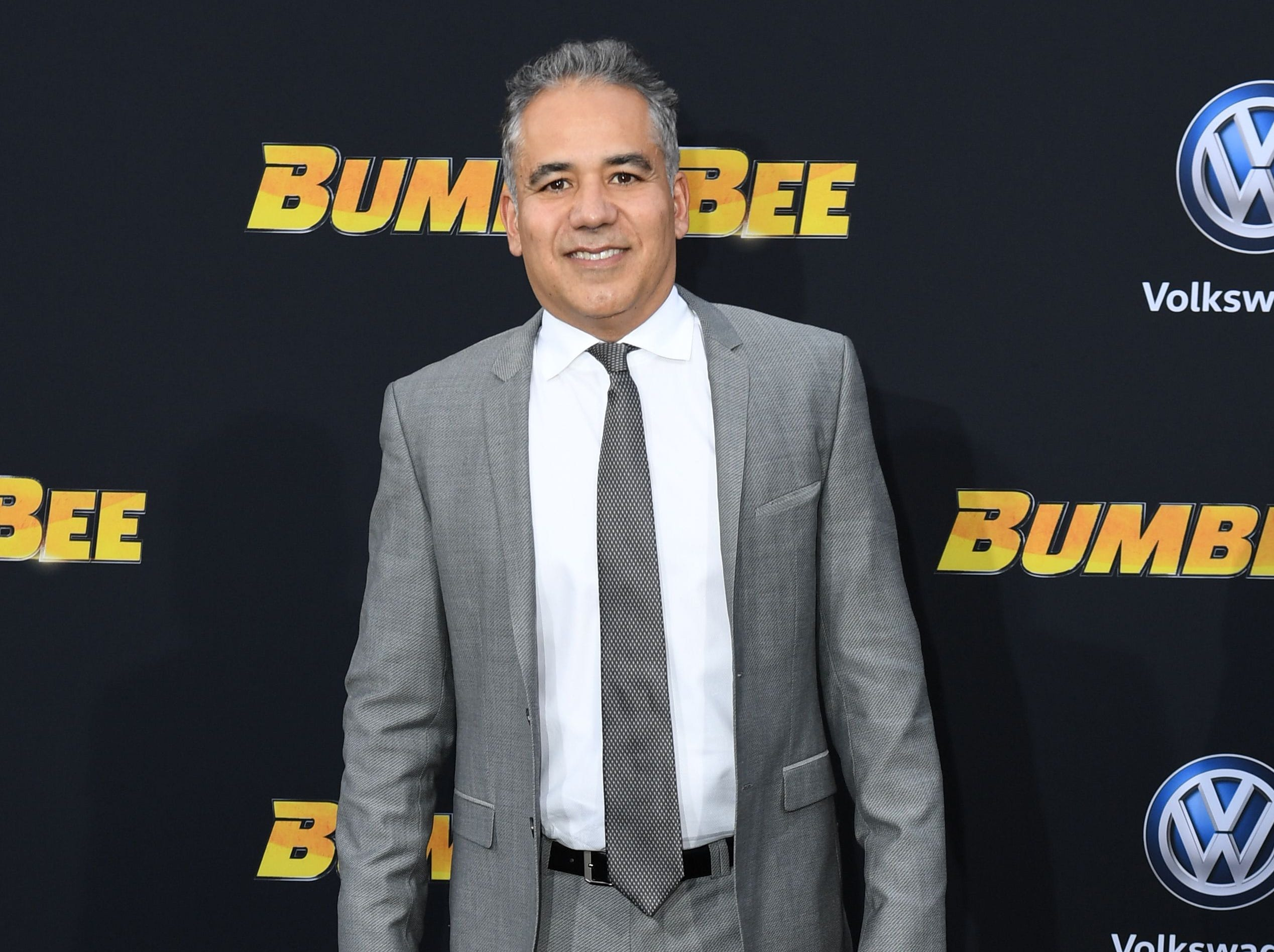 "US actor John Ortiz attends the global premiere of ""Bumblebee"" at the TCL Chinese theatre in Hollywood on December 9, 2018. (Photo by VALERIE MACON / AFP)VALERIE MACON/AFP/Getty Images ORG XMIT: Premiere ORIG FILE ID: AFP_1BH0K6"