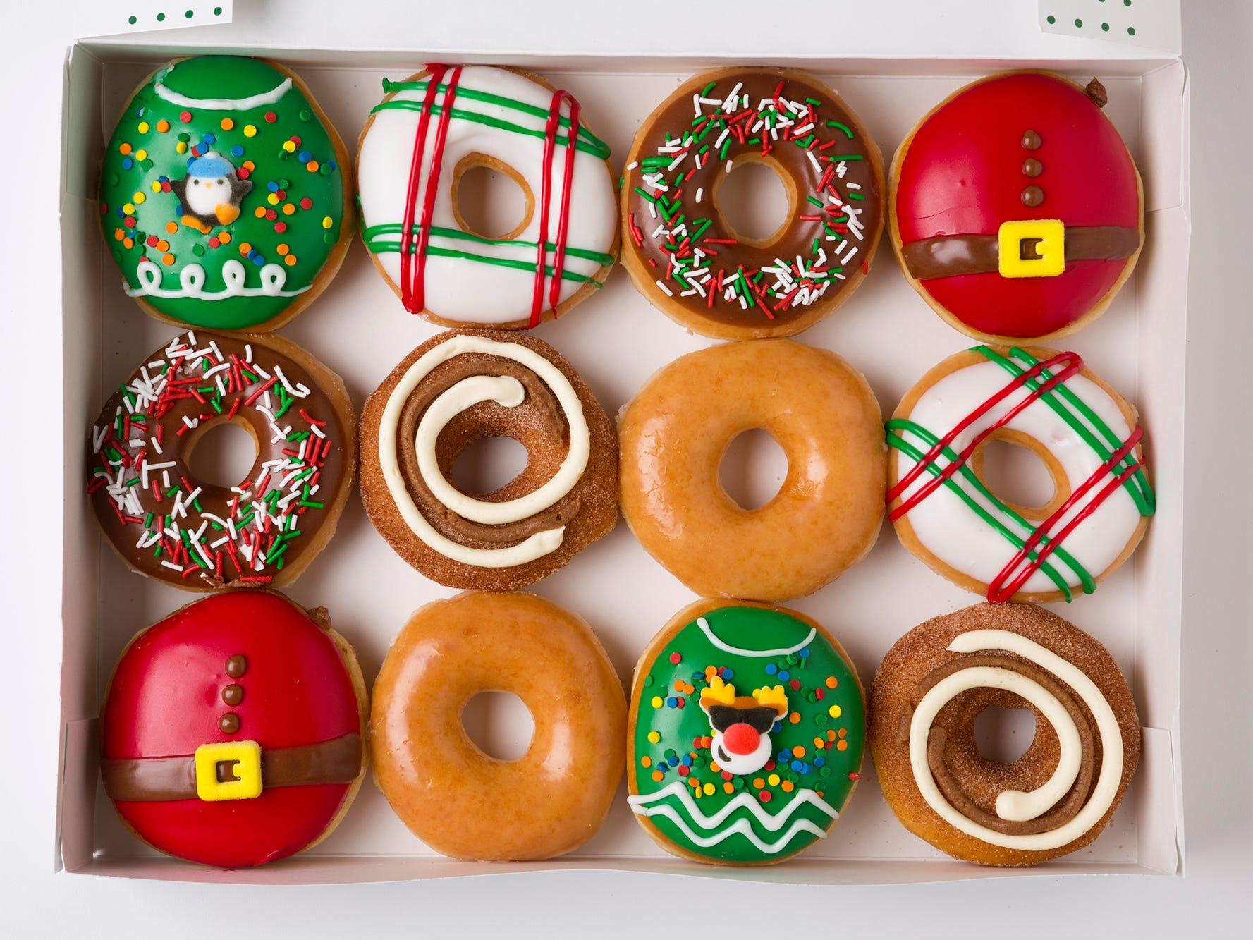 Krispy Kreme celebrates 'Day of Dozens' today with $1 donuts deal