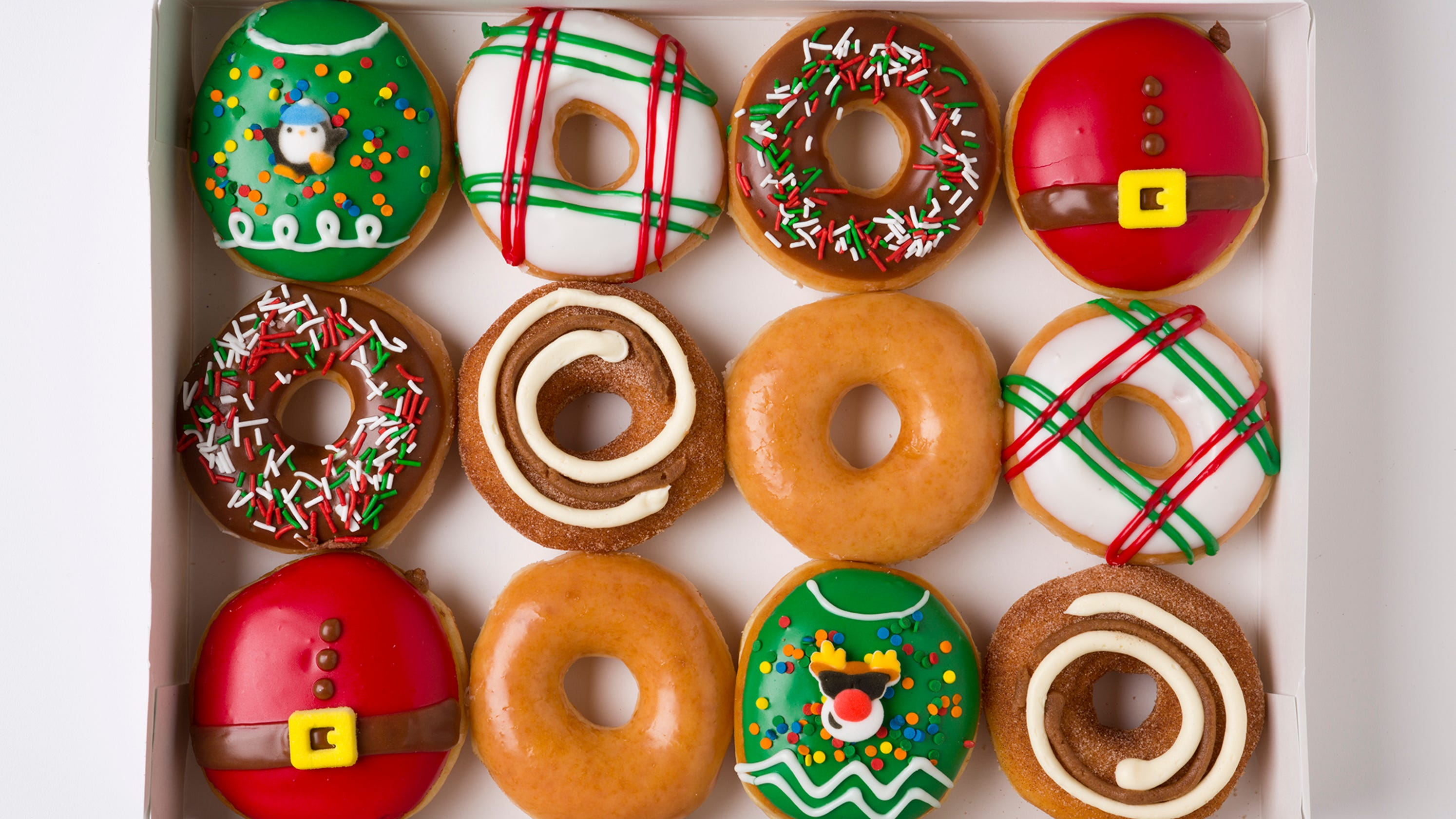 Krispy Kreme doughnuts deal: $1 for a dozen on Day of the ...