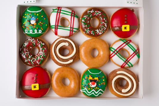 Krispy Kreme Holiday Ltos