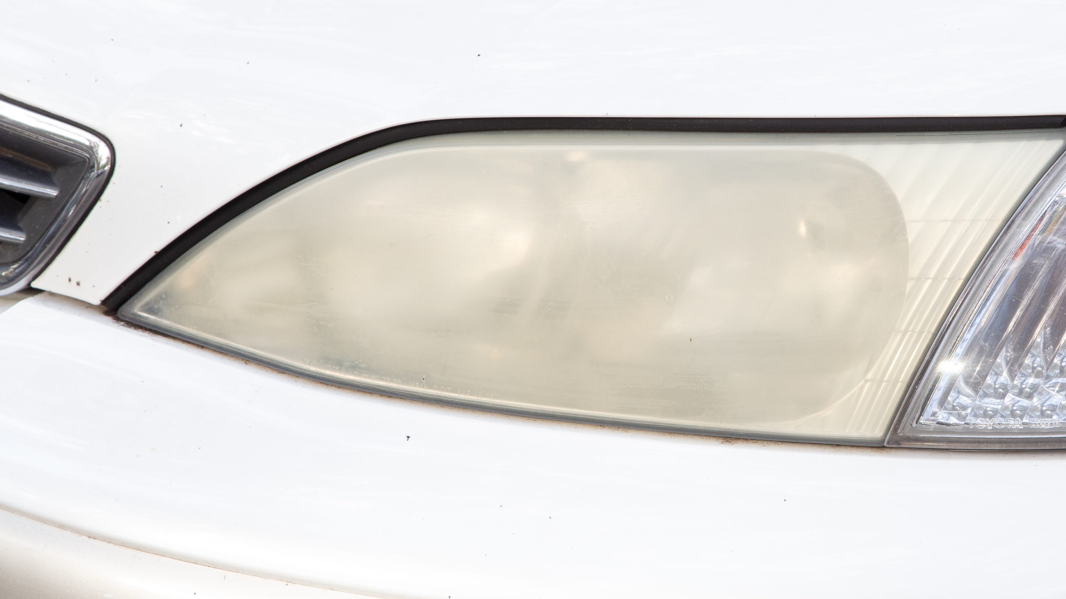 Headlights become clouded or yellowed after years of use, creating a major safety concern for motorists. AAA finds that the average 11-year-old vehicle's headlights generate 20 percent of the illumination as new headlights.