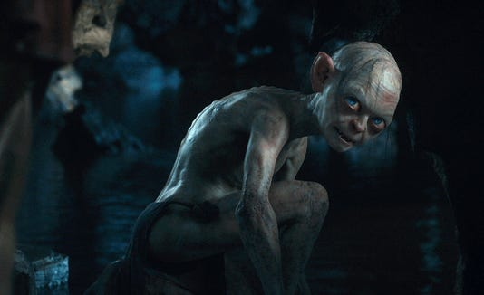 Lord Of The Rings Character Gollum Inhabits The Body Of Theresa May