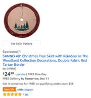 A Sponsored placement on Amazon. These are paid ads.Abrand or a seller or even Amazon itself has bid to place their product in that more visible search result position on the page.