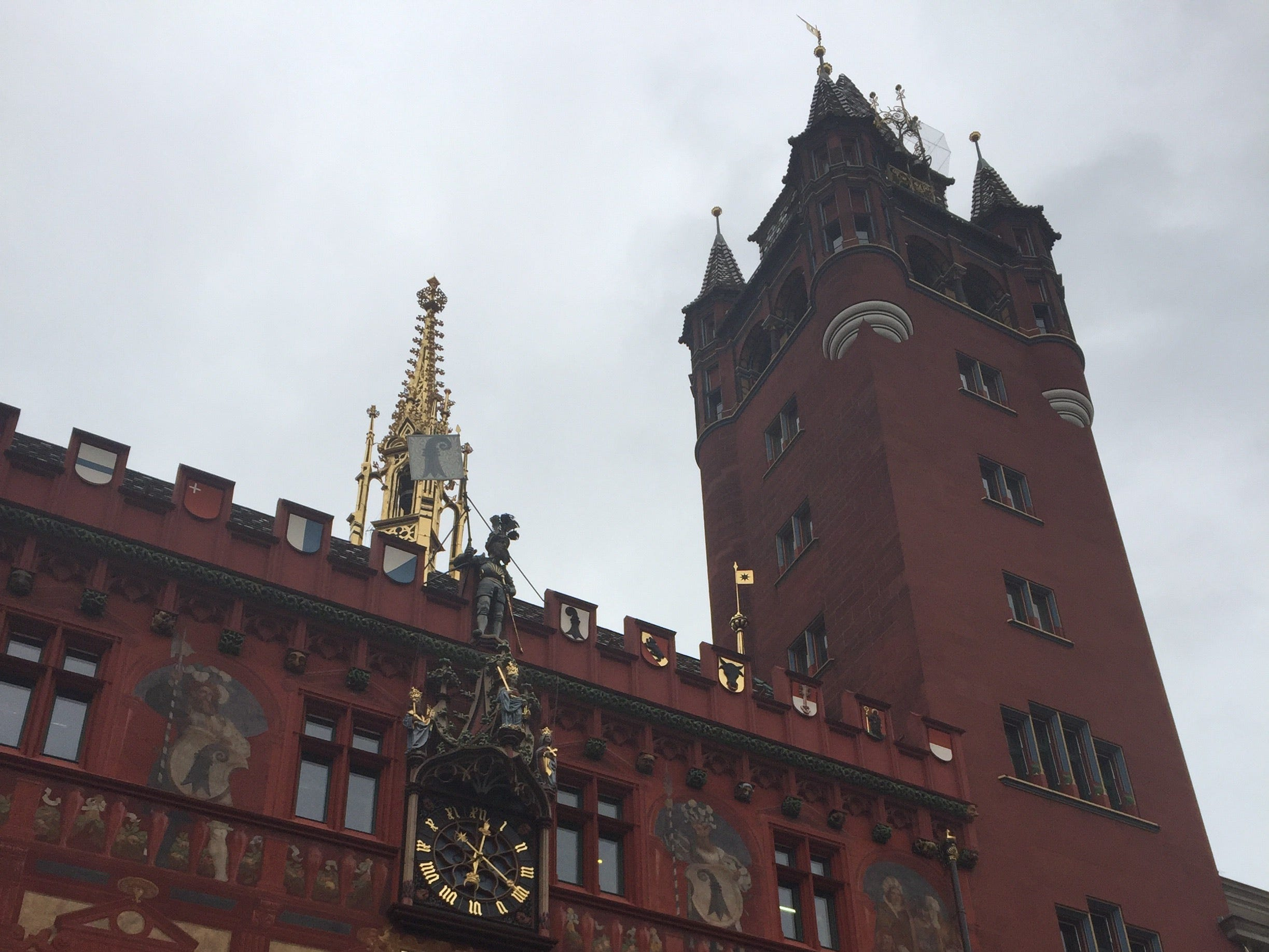 The magnificent City Hall is one of Basel's best known landmarks.