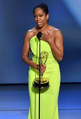 "Regina King won her third Emmy in September for Netflix's ""Seven Seconds."""