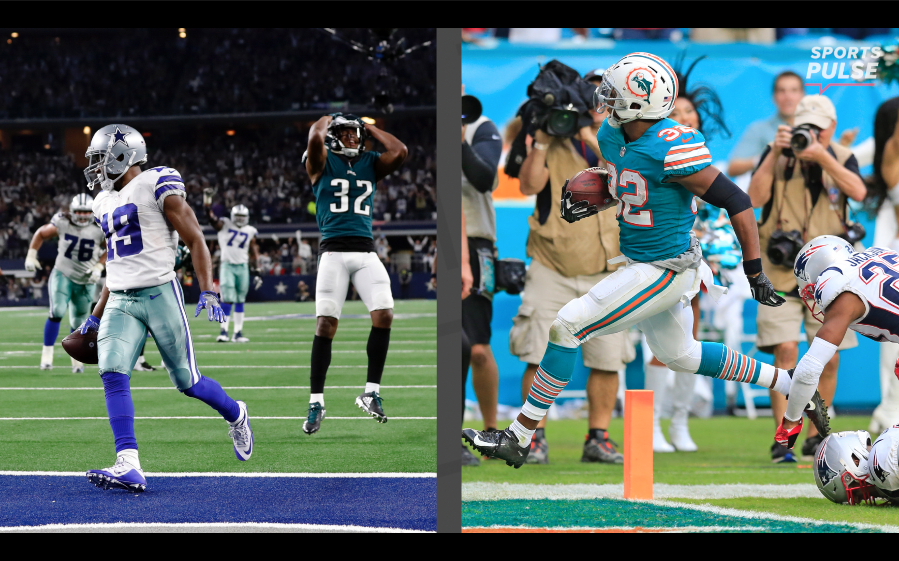 36c488bdf Dolphins stun Patriots with Kenyan Drake s last-second touchdown after two  laterals