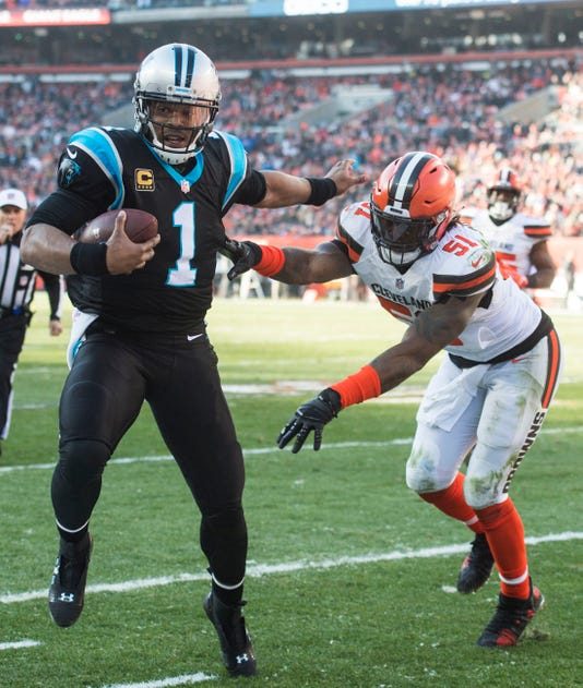 Nfl Carolina Panthers At Cleveland Browns